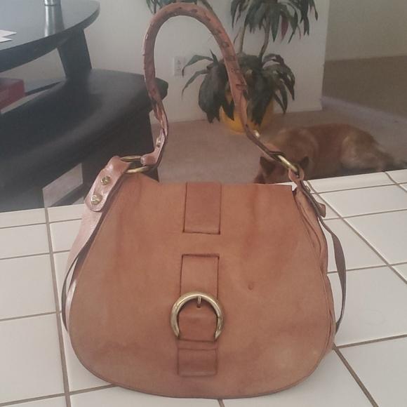 Francesco Biasia Vintage Leather Shoulder Bag